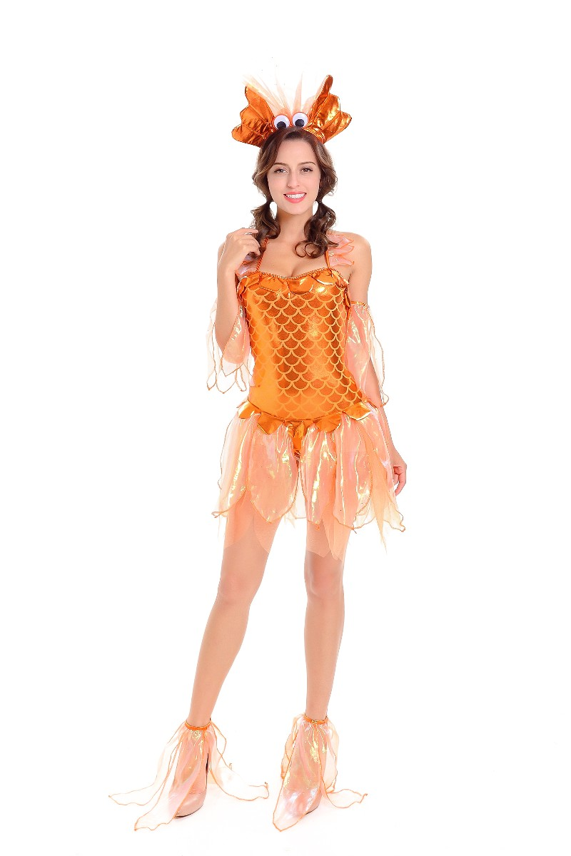 Fancy Gold Fish Costume Adultanimal2018 Adult Costumesflower Kit
