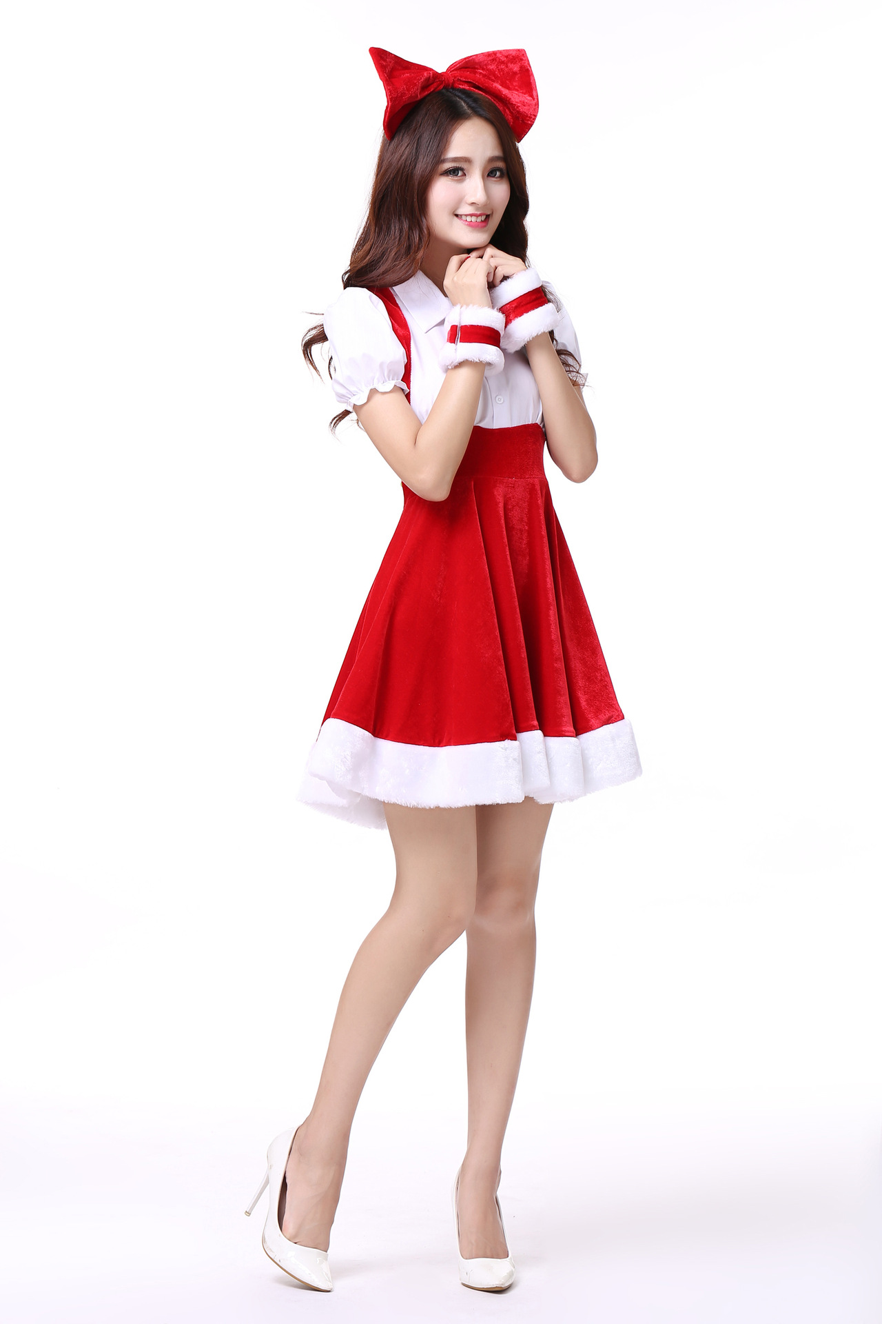 3217367d870 Christmas Costume Party Sweetheart Miss Sexy Adult Women Halloween ...